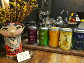 Local Teas are also available. Apo Wang-Od says 'Hi!' by the way :)