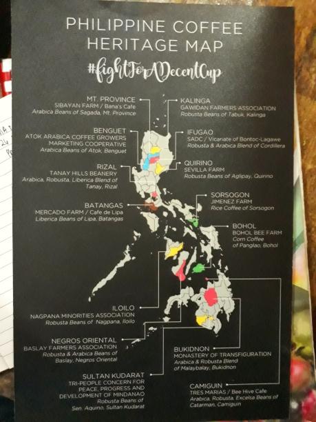 MA+D Manila's Coffe map